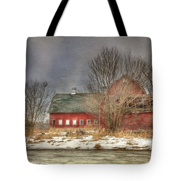 Through the Roof Tote Bag by Lori Deiter