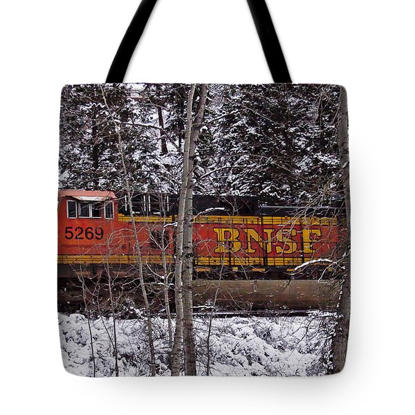 Through The Woods Tote Bag by Albert Seger