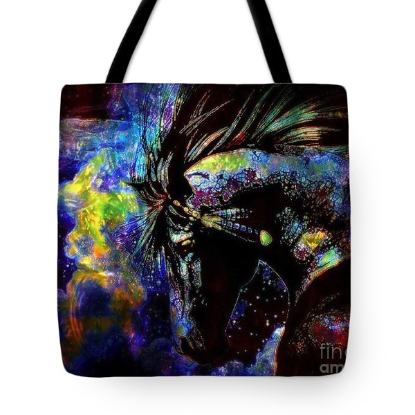 Thundering Hooves Tote Bag by WBK