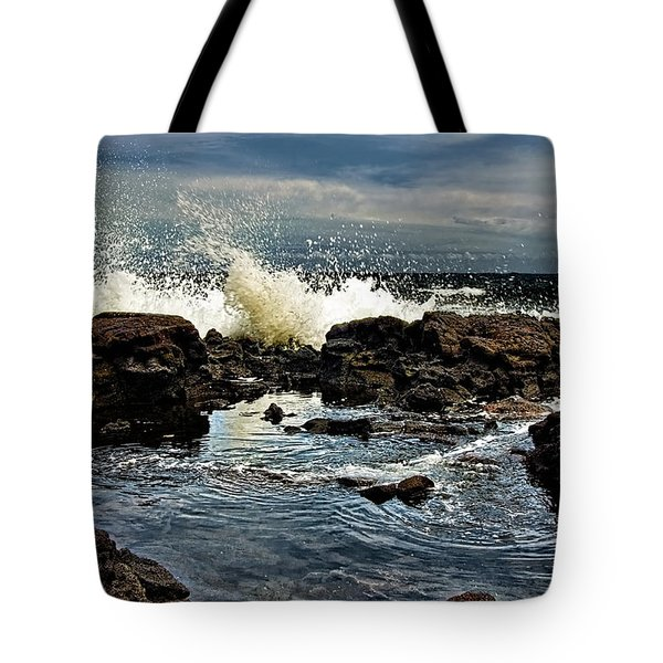 Tide Coming In Tote Bag by Christopher Holmes