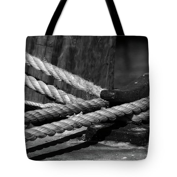 Tied down Tote Bag by Susanne Van Hulst
