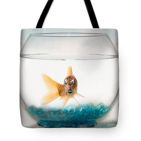 Tiger Fish Tote Bag by Juli Scalzi