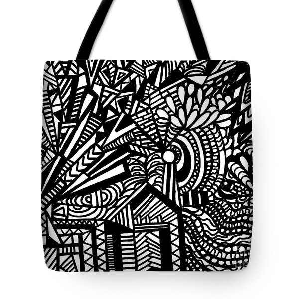 Tilting At Windmills Tote Bag by WBK