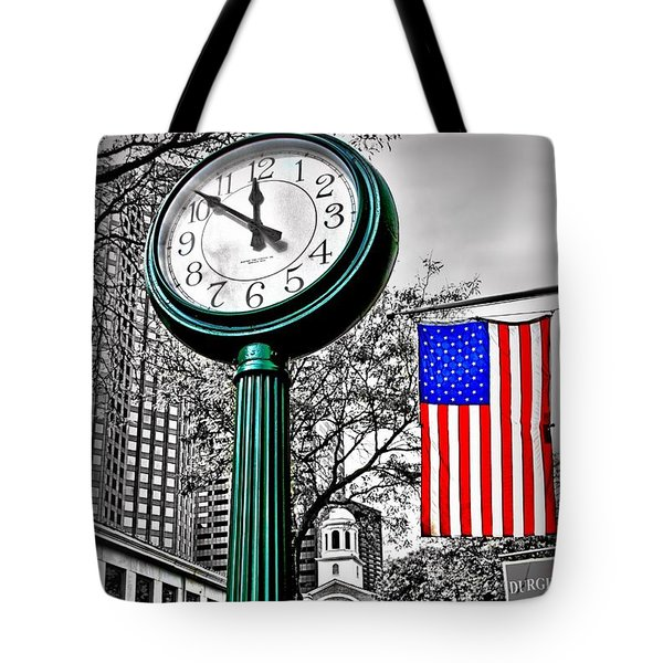 Time For Lunch Tote Bag by DJ Florek