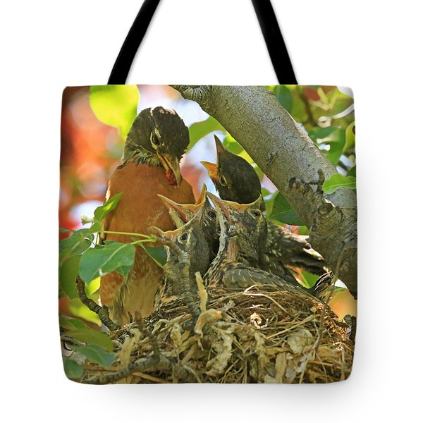 Time For Your Fruits Tote Bag by Donna Kennedy