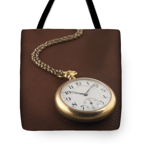 Time Tote Bag by Jerry McElroy