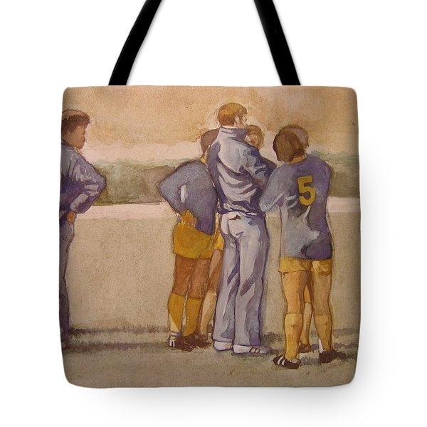 Time Out Tote Bag by Nigel Wynter