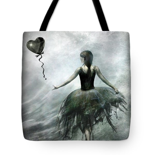 Time To Let Go Tote Bag by Jacky Gerritsen