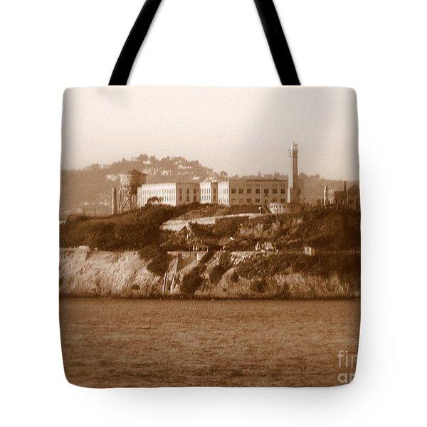 Timeless Alcatraz Tote Bag by Carol Groenen