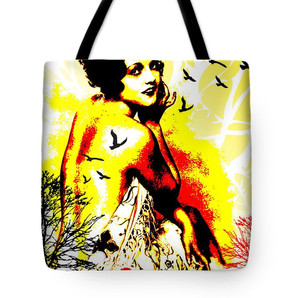 Timeless Flight Tote Bag by Chris Andruskiewicz
