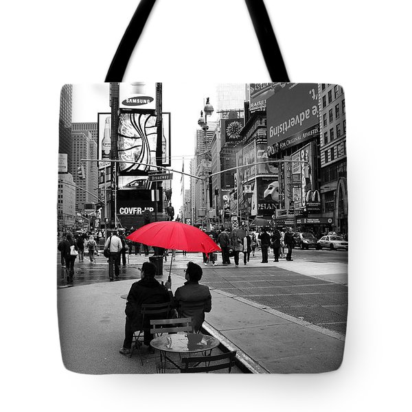 Times Square 5 Tote Bag by Andrew Fare