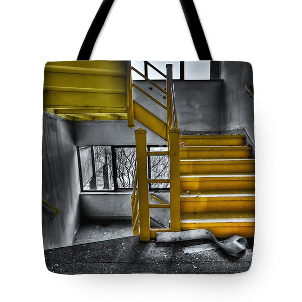 To The Higher Ground Tote Bag by Evelina Kremsdorf