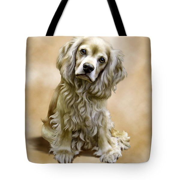 Toby Tote Bag by Barbara Hymer