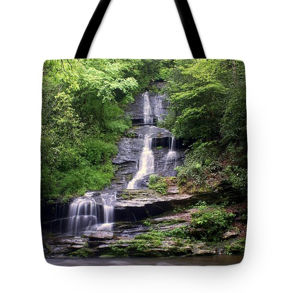 Tom Branch Falls Tote Bag by Marty Koch