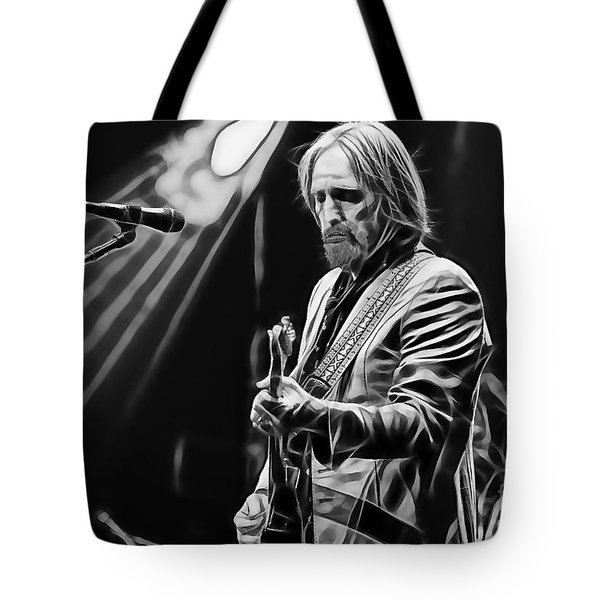 Tom Petty Collection Tote Bag by Marvin Blaine