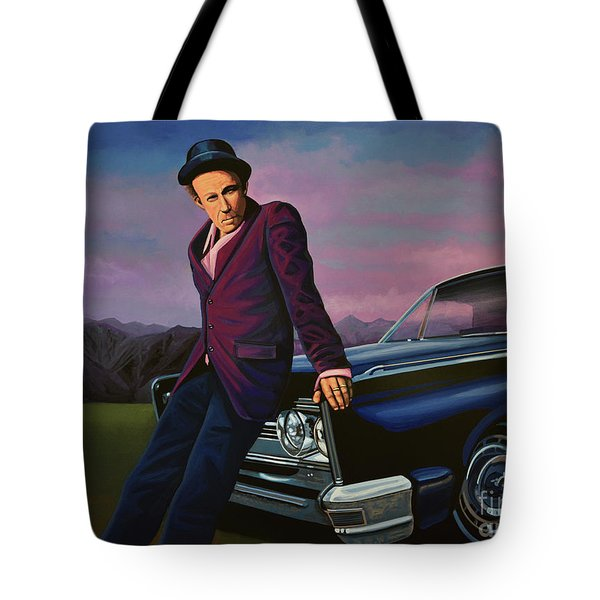 Tom Waits Tote Bag by Paul Meijering