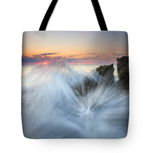 Too Close for Comfort Tote Bag by Mike  Dawson