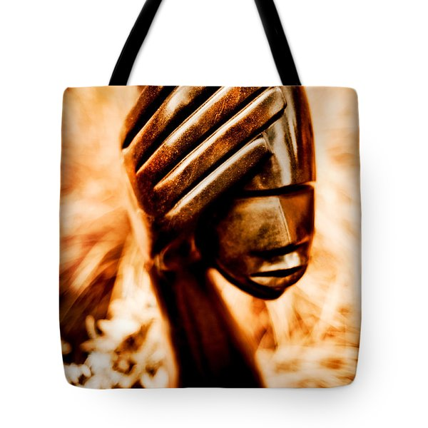 Too Much In My Head Tote Bag by Venetta Archer