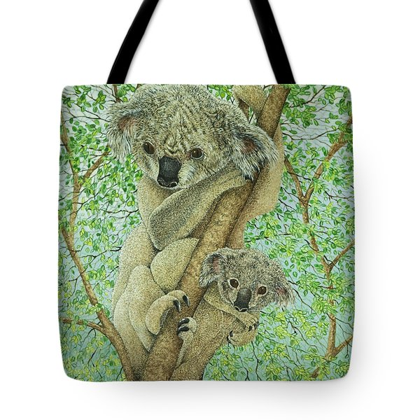Top Of The Tree Tote Bag by Pat Scott