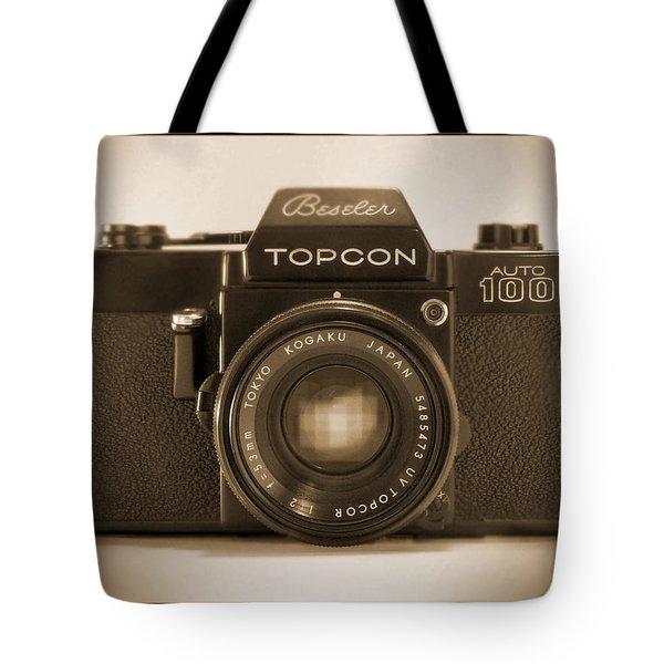 Topcon Auto 100 Tote Bag by Mike McGlothlen