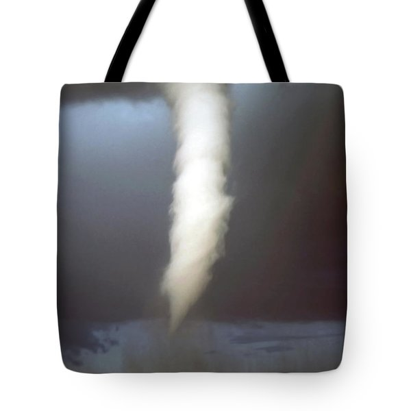 tornado funnel Tote Bag by Sally Weigand