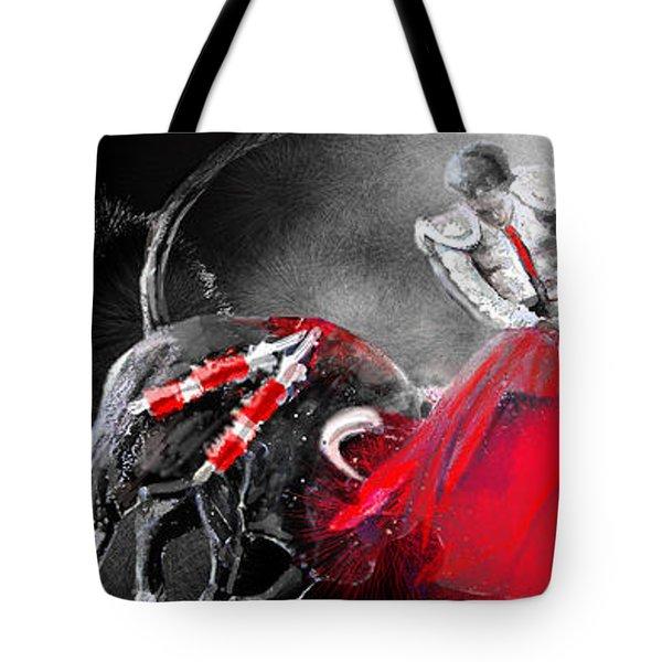 Toro Tarantino Tote Bag by Miki De Goodaboom