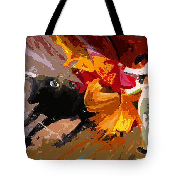 Toroscape 04 Tote Bag by Miki De Goodaboom