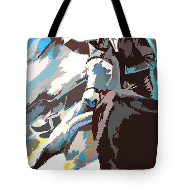 Toroscape 31 Tote Bag by Miki De Goodaboom