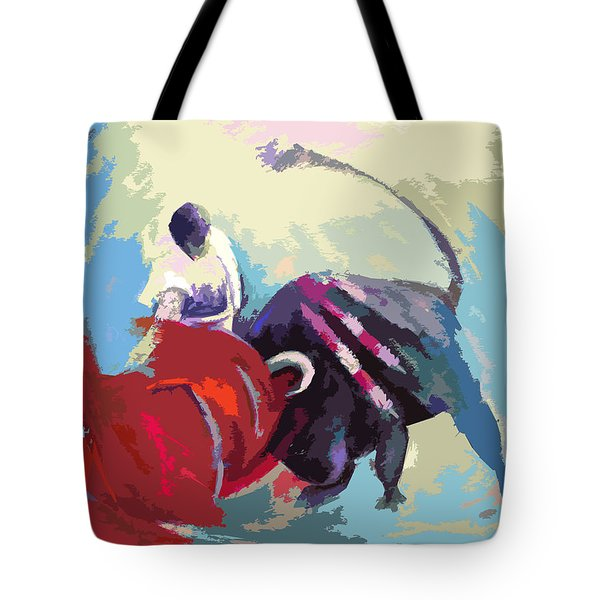 Toroscape 33 Tote Bag by Miki De Goodaboom