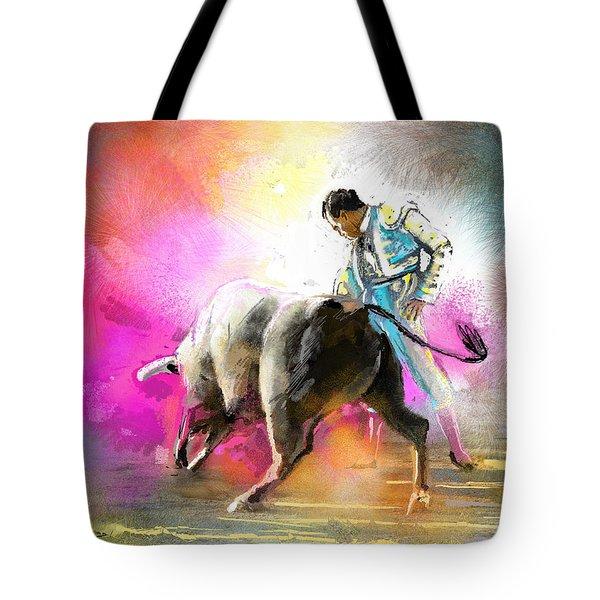 Toroscape 44 Tote Bag by Miki De Goodaboom