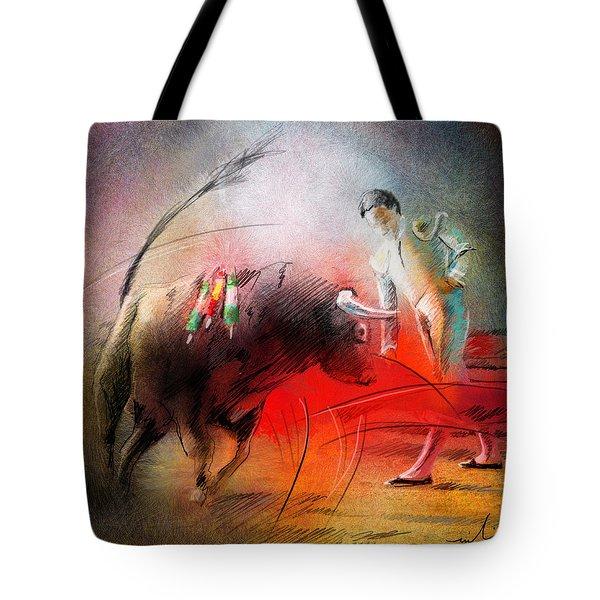 Toroscape 59 Tote Bag by Miki De Goodaboom