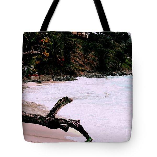 Tortola Bvi Tote Bag by Tom Prendergast