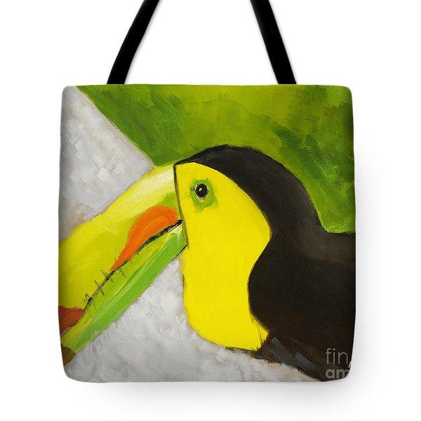 Toucan Tote Bag by Katie OBrien - Printscapes