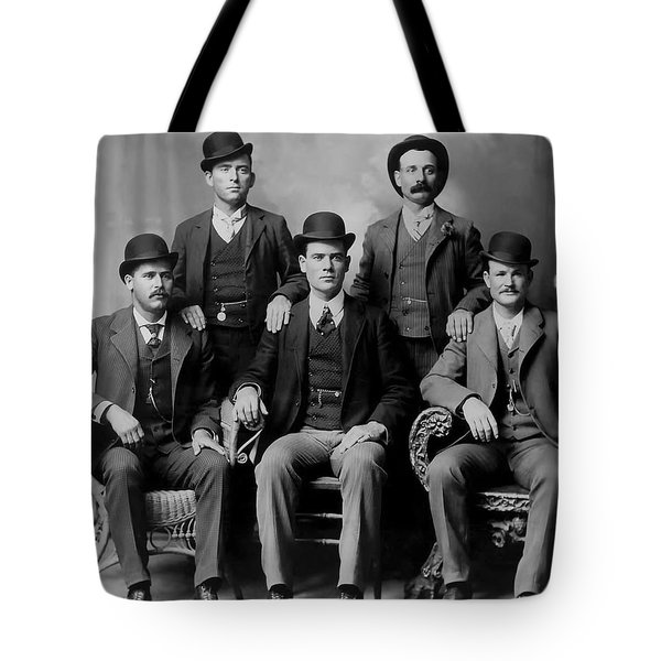 Tough Men Of The Old West 2 Tote Bag by Daniel Hagerman