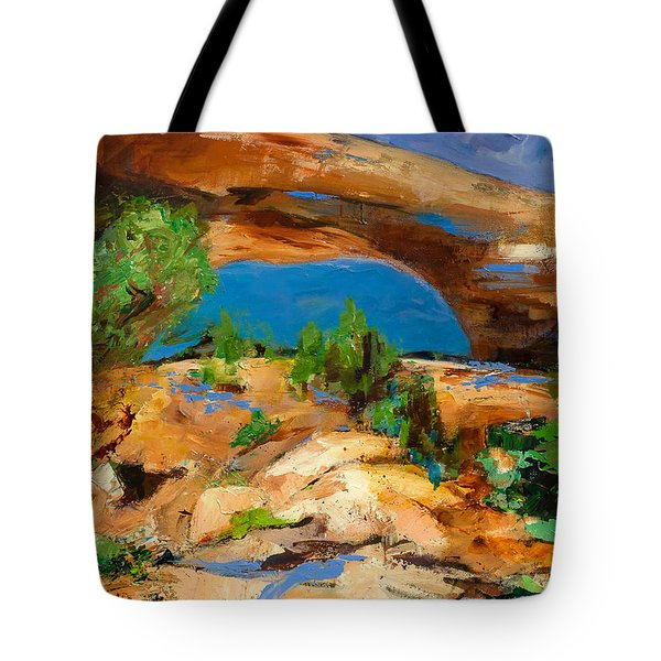 Toward The Arch  Tote Bag by Elise Palmigiani