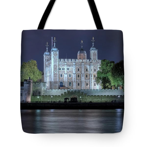 Tower Of London Tote Bag by Joana Kruse