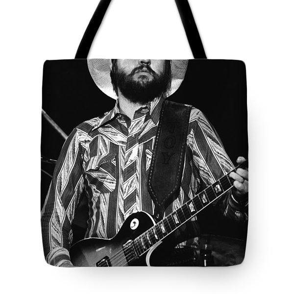 Toy Caldwell Live Tote Bag by Ben Upham