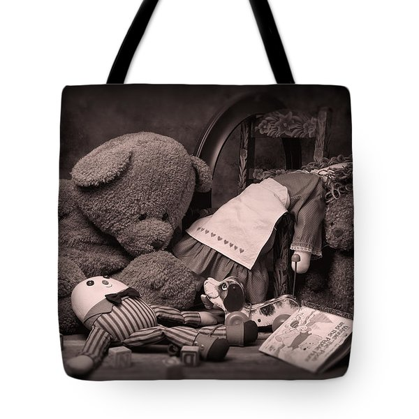 Toys Tote Bag by Tom Mc Nemar