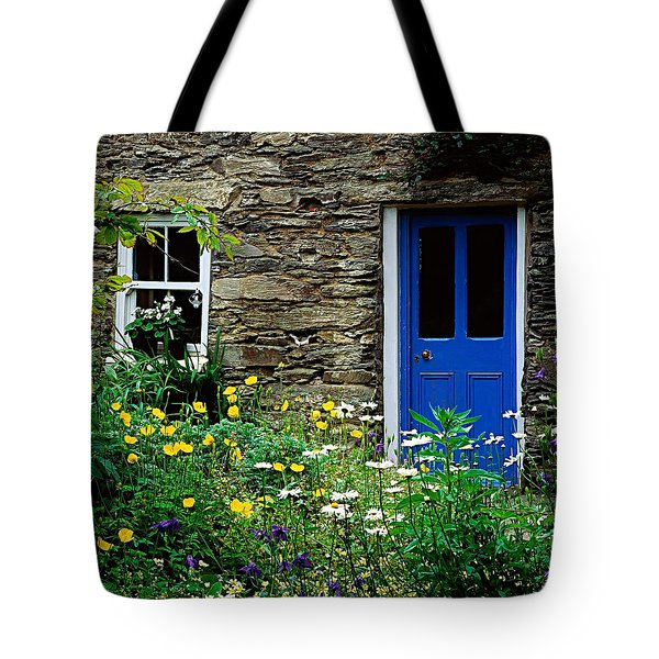 Traditional Cottage, Co Cork Tote Bag by The Irish Image Collection