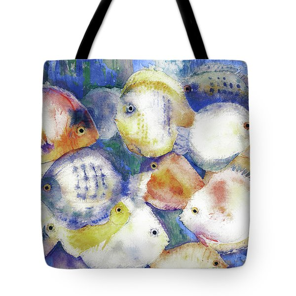 Traffic Jam Tote Bag by Arline Wagner