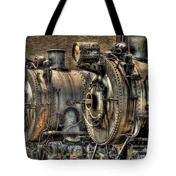 Train - Engine - Brothers Forever Tote Bag by Mike Savad