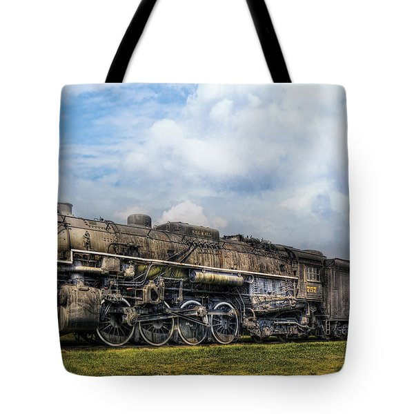 Train - Engine - Nickel Plate Road Tote Bag by Mike Savad
