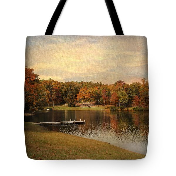 Tranquility Tote Bag by Jai Johnson