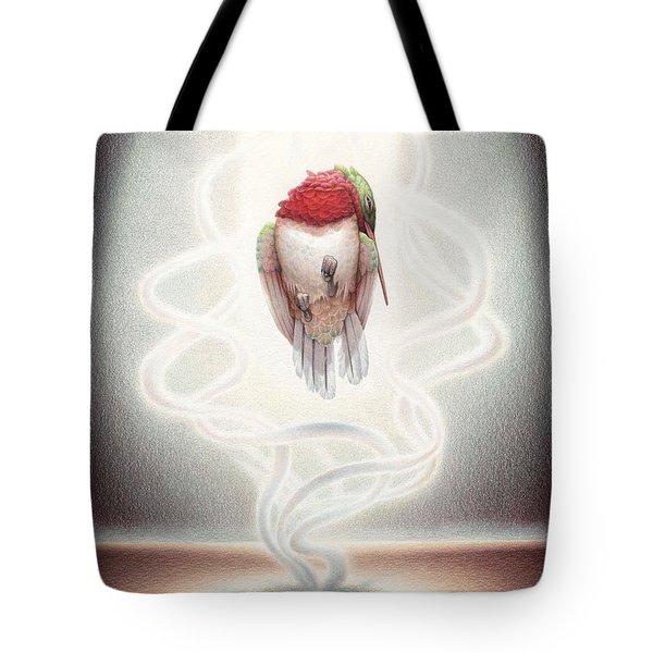 Transcendent Flight Tote Bag by Amy S Turner