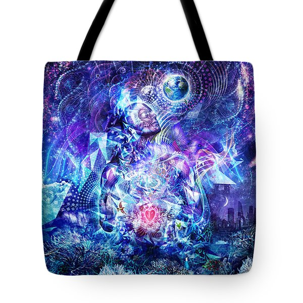 Transcension Tote Bag by Cameron Gray