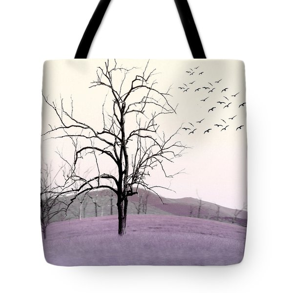 Tree Change Tote Bag by Holly Kempe