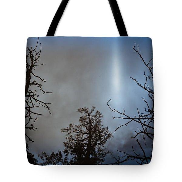 Tree Flash Tote Bag by Scott Sawyer