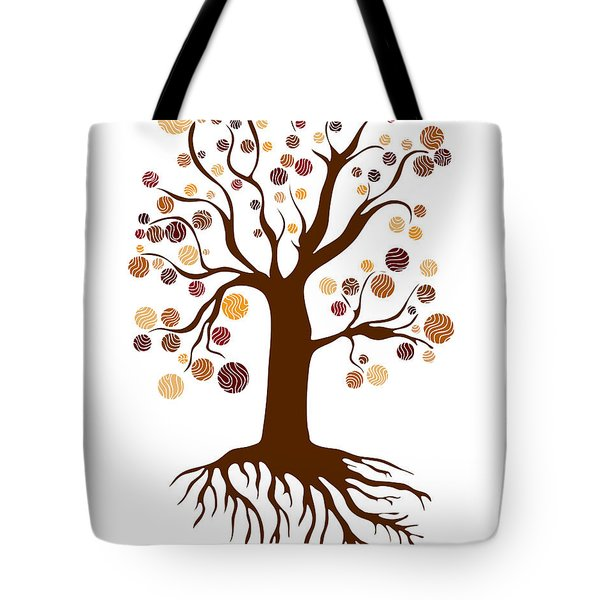 Tree Tote Bag by Frank Tschakert