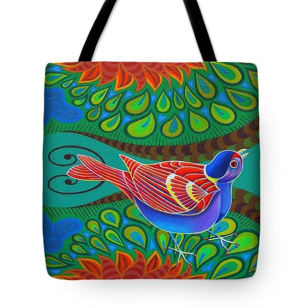 Tree Sparrow Tote Bag by Jane Tattersfield