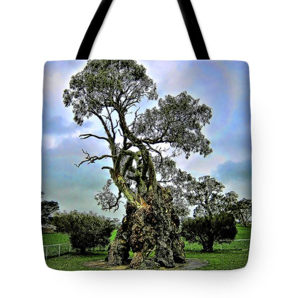 Treehouse Tote Bag by Douglas Barnard